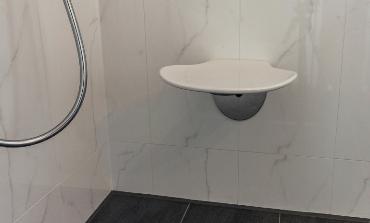 5c: Barrierefreies Bad mit Dusche/WC 5 qm
